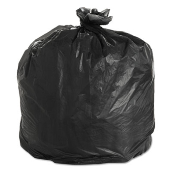Black High Density Trash Can Liners