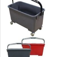 Microfiber Mop Bucket and Recharging pails
