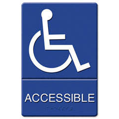 Wheel Chair Accessible sign