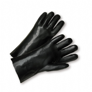 PVC 18 inch Smooth Grip Interlock Lined Gloves