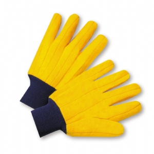 Full Chore KW Glove, Navy Knit Wrist