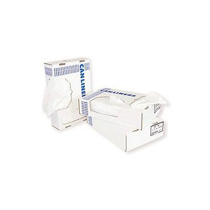 Clear High Density Trash Can Liners