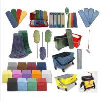 Microfiber Mops, Buckets, Dusters & Cloths