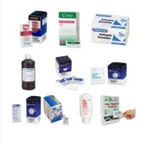 First Aid Ointments, Creams and Towellettes