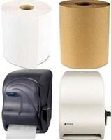 Hardwound Hand Towels & Hardwound Hand Towel Dispensers