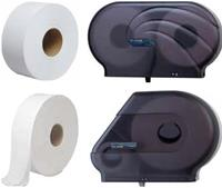 Jumbo Roll Bathroom Tissue & Jumbo Roll Bathroom Tissue Dispensers