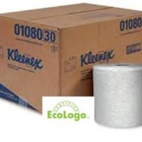 Kimberly Clark 01080 Hardwound Roll Towel White