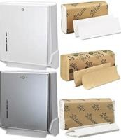 Multi-Fold & C-Fold Hand Towels & Multi-Fold & C-Fold Towel Dispensers