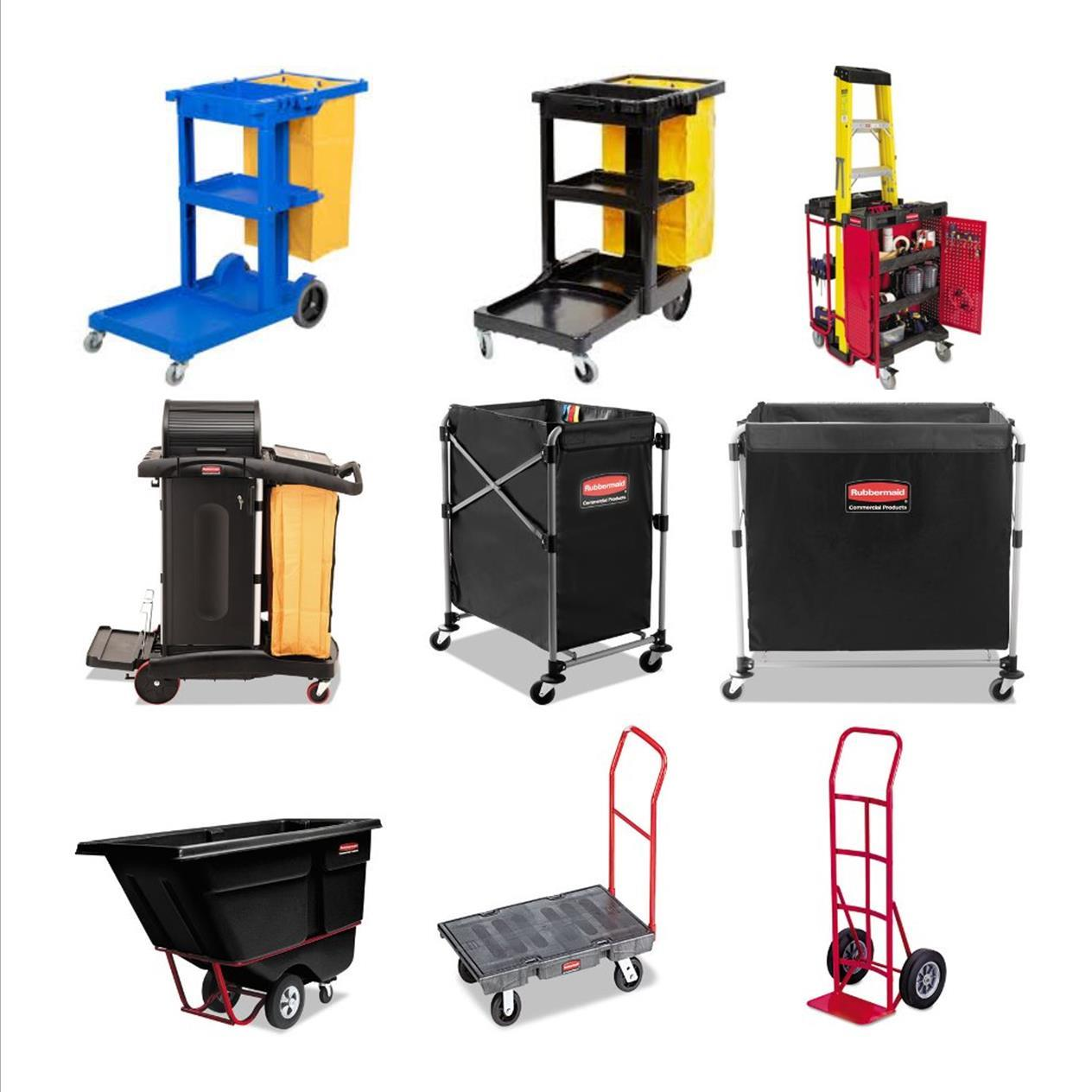 Housekeeping, Janitorial & Service Carts