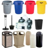 Waste Containers & Cigarette Urns