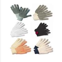 String Knit, Jersey & Canvas Gloves