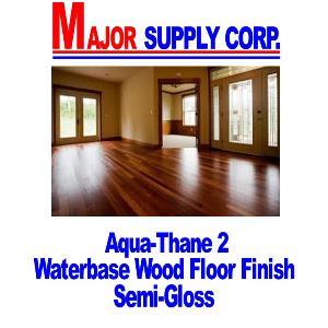 Aqua Thane 2 Semi Gloss Waterbase Wood Floor Finish W Crosslinker