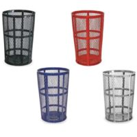 Street Baskets 45 Gal. Trash Containers