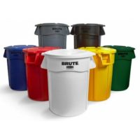 Brute Round Trash Containers